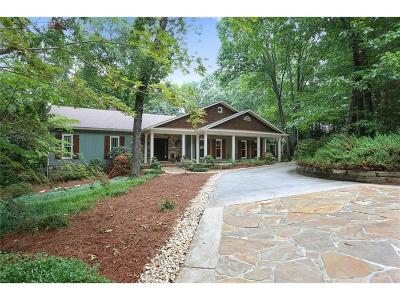 Marietta Single Family Home For Sale: 722 Beauregard Drive SW