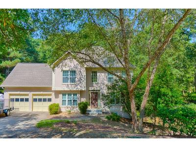 Acworth Single Family Home For Sale: 5860 Bridgemont Place NW