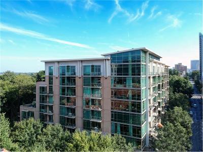 Atlanta Condo/Townhouse For Sale: 905 Juniper Street NE #610