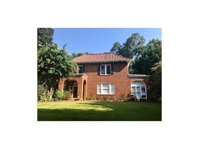 Atlanta Single Family Home For Sale: 1316 N Decatur Road NE