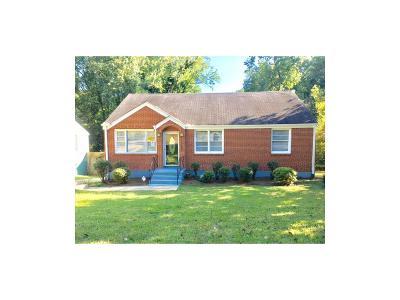 Atlanta Single Family Home For Sale: 2587 E Tulepo Street SE