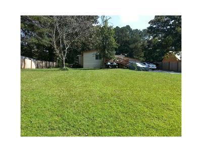 Acworth Single Family Home For Sale: 6882 Mohawk Drive SE