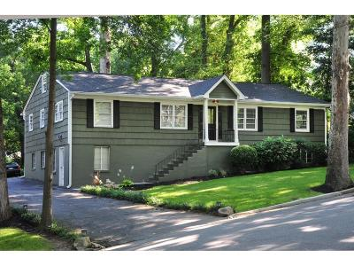 Single Family Home For Sale: 56 Mobile Avenue NE