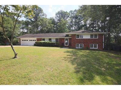 Atlanta Single Family Home For Sale: 3378 Elmtree Drive