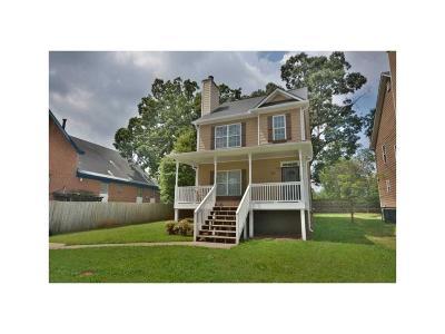 Single Family Home For Sale: 82 Wesley Avenue NE