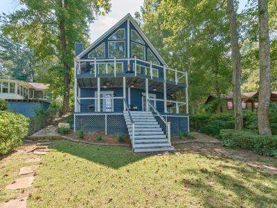 Forsyth County, Gwinnett County Single Family Home For Sale: 8522 Lake Drive