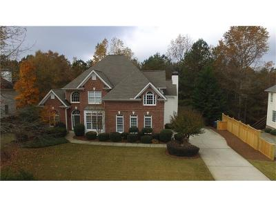 Cumming Single Family Home For Sale: 4785 Woodruff Trace