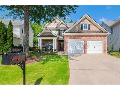 Woodstock Single Family Home For Sale: 520 Mountain Crossing