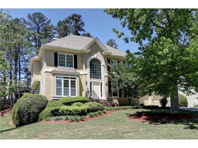 Johns Creek Single Family Home For Sale: 11920 Lexington Woods Drive