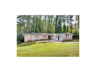 Stone Mountain Single Family Home For Sale: 3923 Sable Drive