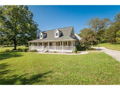 Loganville Single Family Home For Sale: 460 Hope Hollow Road
