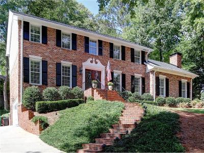 Dunwoody Single Family Home For Sale: 5138 Vernon Oaks Drive