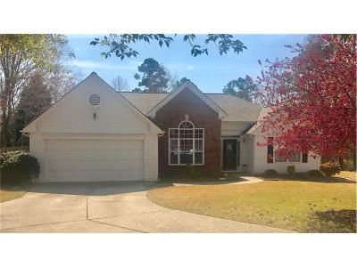 Suwanee Single Family Home For Sale: 572 Staghorn Lane