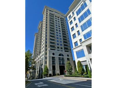 Condo/Townhouse For Sale: 3040 Peachtree Road NW #1108
