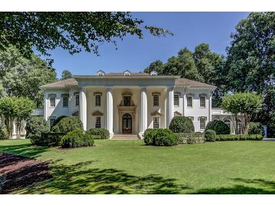 Atlanta GA Single Family Home For Sale: $6,750,000