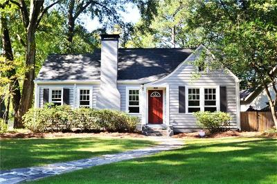 Peachtree Park Single Family Home For Sale: 19 Arc Way NE
