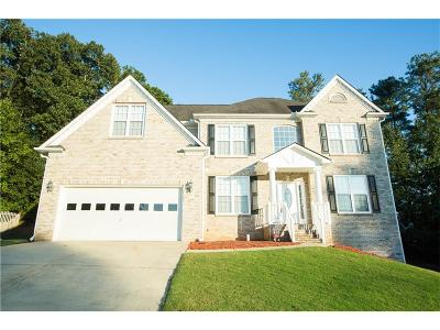 Lawrenceville Single Family Home For Sale: 1807 Hampton Woods Way