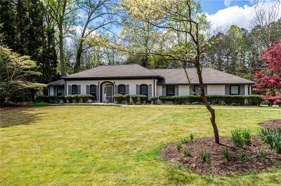 Sandy Springs Single Family Home For Sale: 5100 Northland Drive