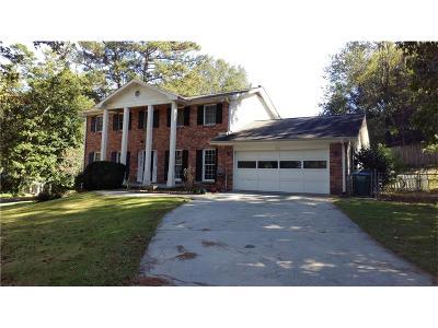 Lilburn Single Family Home For Sale: 3672 Bittercreek Way SW