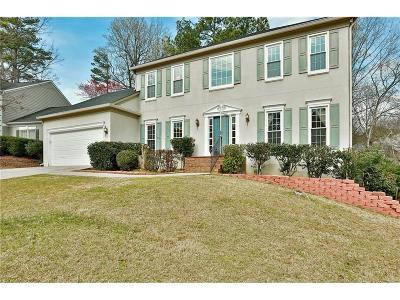 Alpharetta Single Family Home For Sale: 4960 Agate Drive
