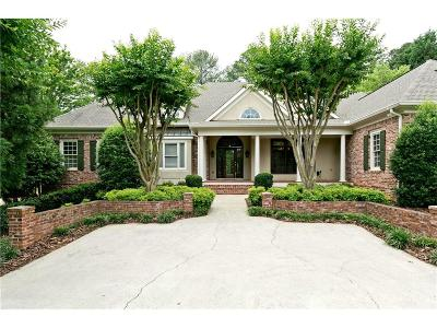 Kennesaw Single Family Home For Sale: 1005 Faulkner Place NW