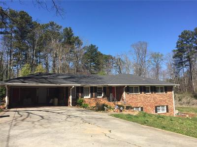 Lilburn Single Family Home For Sale: 5011 Lilburn Stone Mountain Road SW