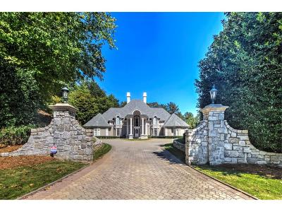 Sandy Springs GA Single Family Home For Sale: $1,998,000