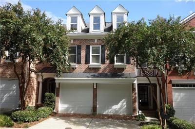 Alpharetta Condo/Townhouse For Sale: 2635 Milford Lane
