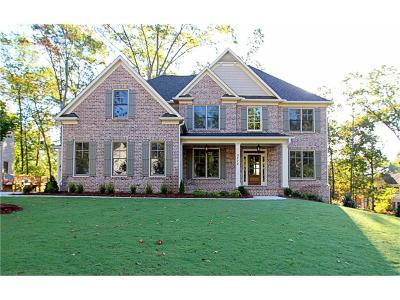 Marietta Single Family Home For Sale: 3935 Samuel Chapel Court