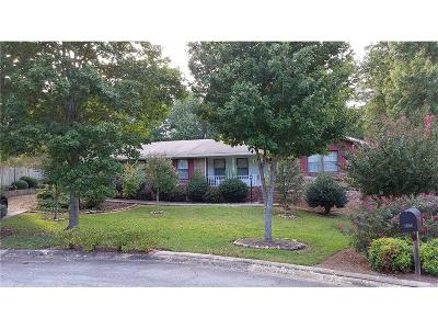 Dunwoody Single Family Home For Sale: 5132 Foxwood Court