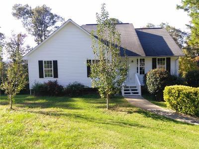 Calhoun Single Family Home For Sale: 97 Oak Hill Drive
