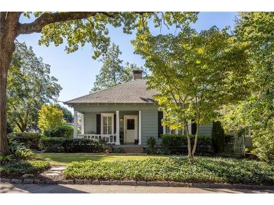 Roswell Single Family Home For Sale: 56 Wood Place