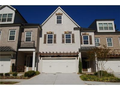Marietta Condo/Townhouse For Sale: 3984 Cliffmont Circle NE