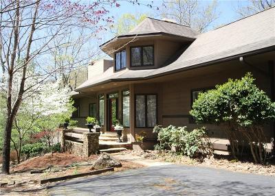 Big Canoe Single Family Home For Sale: 220 Wake Robin Drive