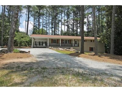 Woodstock Single Family Home For Sale: 7997 Hickory Flat Highway