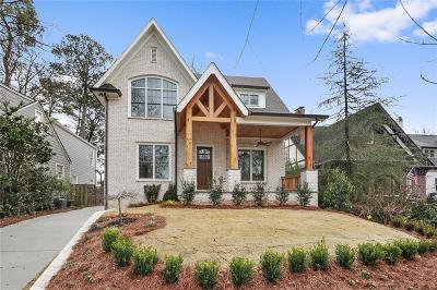 Single Family Home For Sale: 2155 McKinley Road NW
