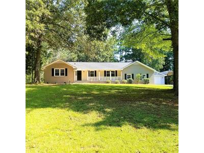 Kennesaw Single Family Home For Sale: 6200 Due West Road NW