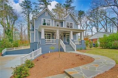 Atlanta Single Family Home For Sale: 3502 Rockhaven Circle NE