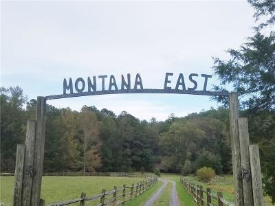 Talking Rock Land/Farm For Sale: 1150 Old Talking Rock Highway
