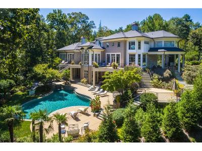 Sandy Springs GA Single Family Home For Sale: $4,295,000