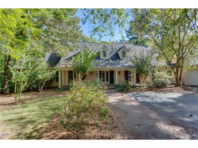 Single Family Home For Sale: 4619 Woodland Brook Drive SE