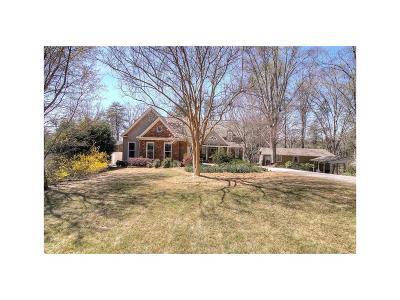 Forsyth County Single Family Home For Sale: 4170 Merritt Drive