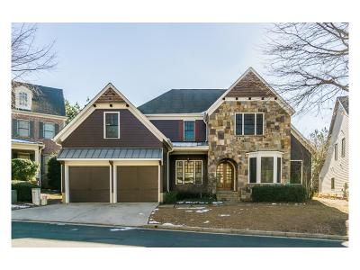Roswell Single Family Home For Sale: 110 Centennial Trace