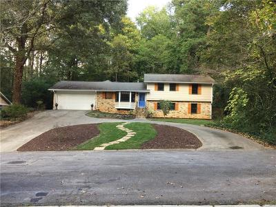 Dunwoody Single Family Home For Sale: 1455 Rochelle Drive