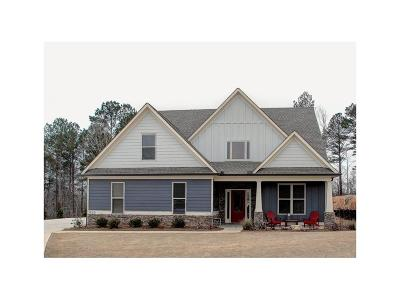 Cartersville Single Family Home For Sale: 10 Weather View Trail