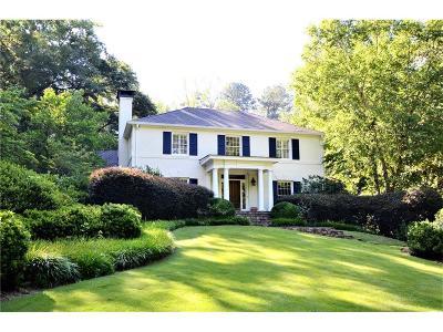 Tuxedo Park, Tuxedo Park Buckhead Single Family Home For Sale: 3961 Tuxedo Road NW