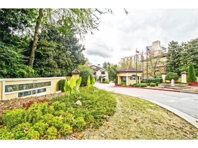Brookhaven Condo/Townhouse For Sale: 3777 Peachtree Road NE #324