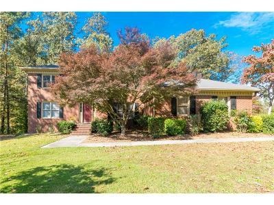 Grayson Single Family Home For Sale: 723 Graymont Drive