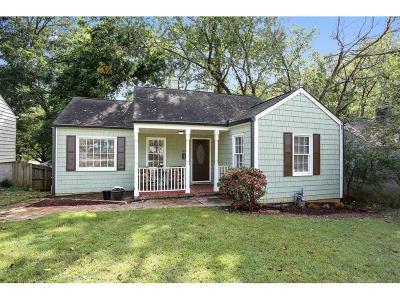 Single Family Home For Sale: 797 Mercer Street SE