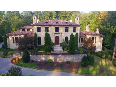 Atlanta GA Single Family Home For Sale: $5,650,000
